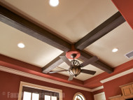 Beams with Light Fixtures and Fans: A Quick How-To