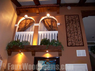 Innovative Home Design Ideas with Faux Ceiling Beams