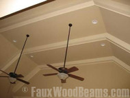 Maximize Light with Painted Ceiling Beams
