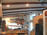 Spacing Exposed Beams in the Kitchen