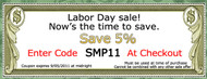 Labor Day Weekend Sale at FauxWoodBeams.com