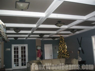 Happy Holidays from Faux Wood Beams