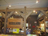T-Rex and Faux Wood Beams Welcome Kids to FAO Schwarz NYC