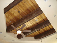Faux Wood Stain Tips: Painting Knots on Your Beams