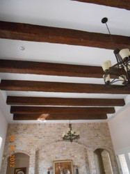 Waste Not Want Not with Decorative Beams
