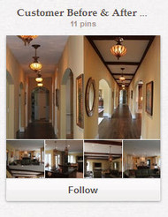 Check out Faux Wood Beams on Pinterest!