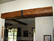 Bikers Use Beams for a Ceiling Transformation