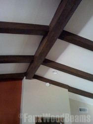 Old Wooden Beams cracked? Don't Repair: Replace with False Beams!
