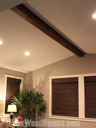 Multitasking: Install Faux Wood Beams AND Cook Dinner!