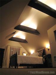 Sleep Well Under Bedroom Ceiling Beams