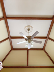 High Vaulted Ceiling Gets a Lift with Hollow Beams