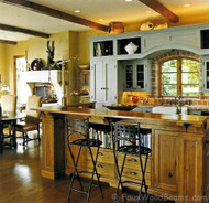 Are Reclaimed Wood Beams Right for You?