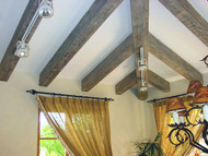 Staining and Painting Fake Wood Beams