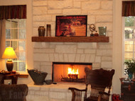 Easily Upgrade Your Home With a DIY Fireplace Mantel