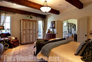 Beautiful Bedroom Makeovers with Open Beam Ceilings