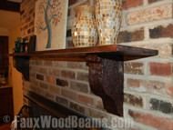 Corbels: Accent Interiors with the Look of Wood