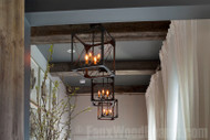 Create a Box Beam Ceiling with Reclaimed Wood Style