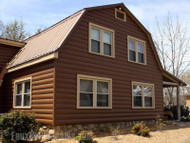 Log-Style Vinyl Paneling: Get the Look of a Real Cabin without the Headaches