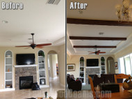 DIY Interior Design with Imitation Wood: Before and After Photos