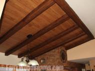 Affordable Building Materials for Contractors: Imitation Wood Beams