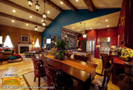 Vaulted Ceilings with Exposed Beams