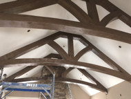 Epic Cathedral Ceiling Trusses with a Curve