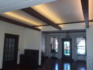 Suspended Ceiling Beams Help Capture Craftsman Style