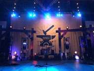 Setting the Stage with Rough Hewn Wood Style