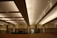 Albuquerque Convention Center Renovation: Beams in the Ballroom