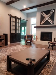 Great Room Redesign Inspired by the American Railroad