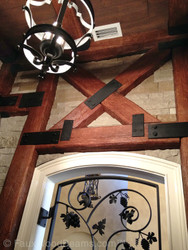 How to Build with Faux Beams: Glues and Screws