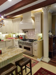 Kitchen Redesign with Light and Dark Colors