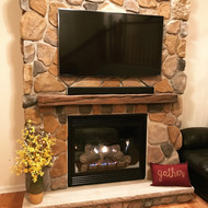 Building a Fireplace: Easier Than it Sounds