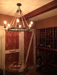 Home Wine Cellar Project: Blending the Old with the New