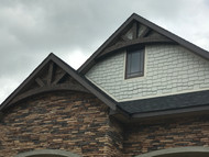 Decorative Gable Trusses Make a New Home Spectacular