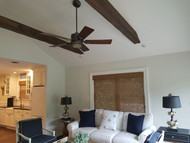How to Brighten a Sun Room Design with Beams