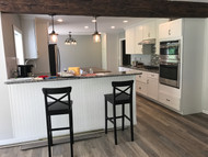 Kitchen Remodel Idea: Top It Off With a Beam