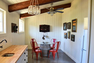 Bring Farmhouse Charm Home to Your Kitchen with Faux Beams