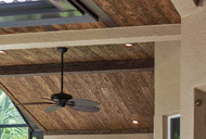 Forget About the Floor: Add Warmth and Wow With a Wood Panel Ceiling