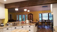 How to Divide a Room Using Faux Beams