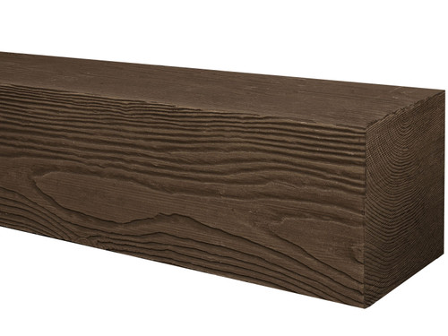 Heavy Sandblasted Faux Wood Beams BAQBM040060156RD30NN