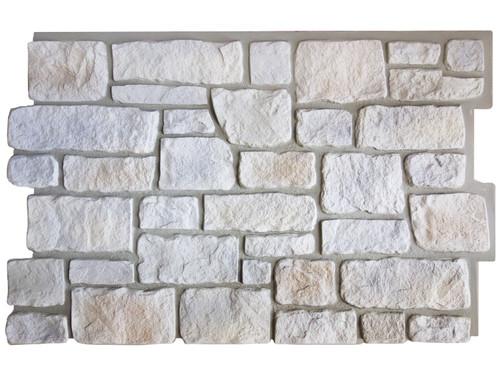 Hampton Cobblestone Stone Wall Panel