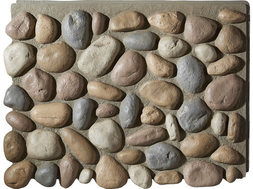 River Rock Wall Panel