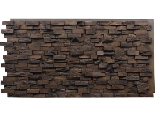 End Grain Wood Wall Panel