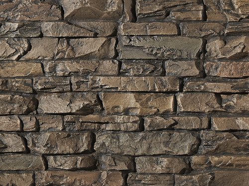 Montana Dry Stack Stone Wall Panel