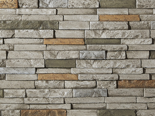 Somerset Dry Stack Stone Wall Panel
