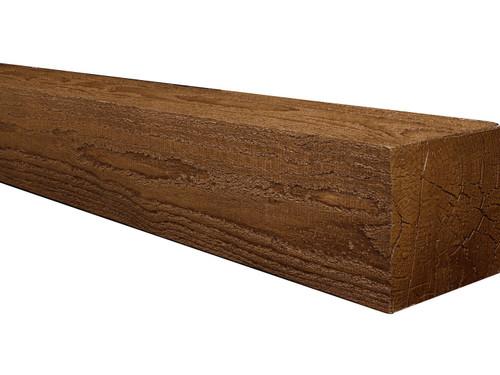 Rough Sawn Faux Wood Mantels BAJMA080080072AWY