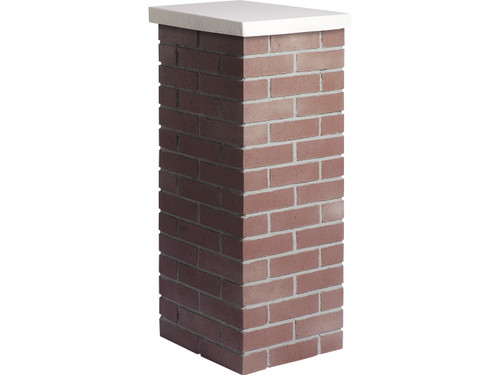 Carlton Traditional Brick Column Sleeve - Wide