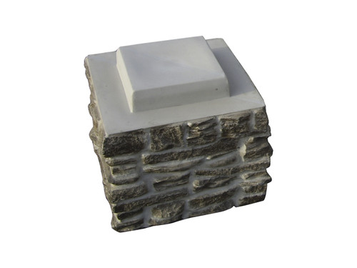 Ashford Ledgestone Column Sleeve Stack Section