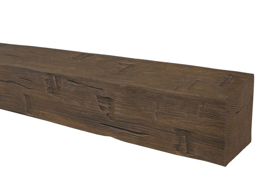 Hand Hewn Faux Wood Beams BAWBM050075120DW41HN